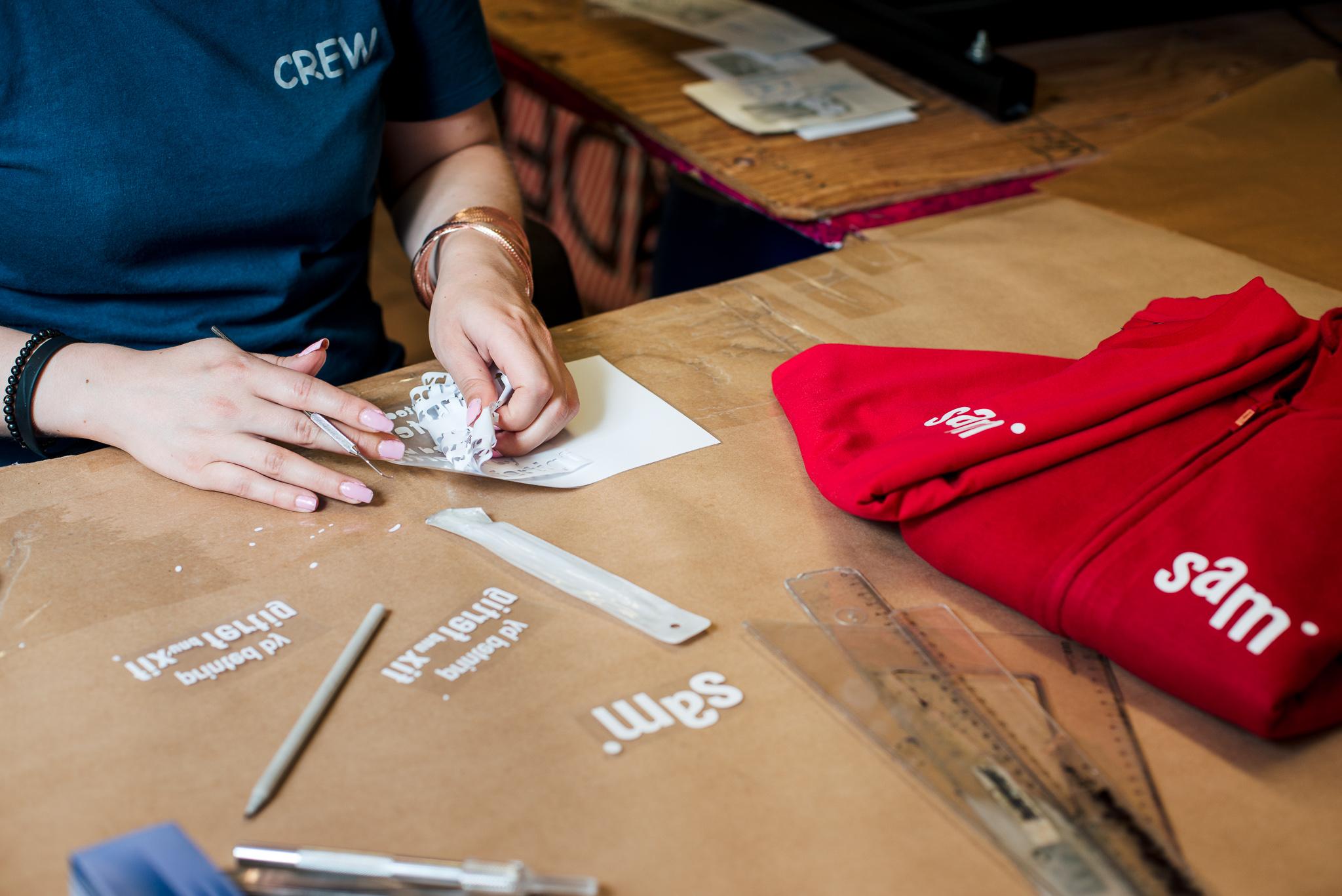 Fix und Fertig Textildruck Vorbereitung